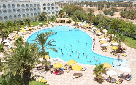 Tunisko - Djerba na 8 dní, all inclusive s dopravou letecky z Prahy 350 m od pláže