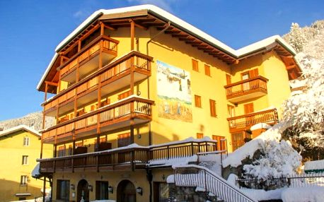 Itálie v tradičním horském hotelu