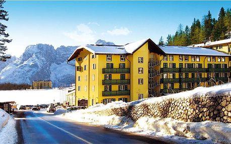 Itálie - Cortina d´Ampezzo na 8 dní, polopenze s dopravou vlastní
