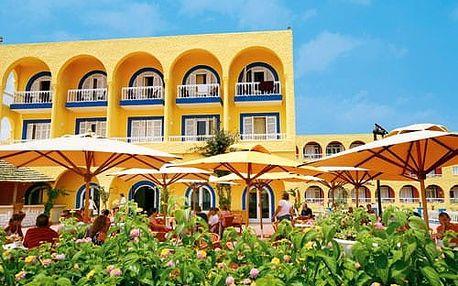 Tunisko - Hammamet na 8 dní, all inclusive s dopravou letecky z Prahy přímo na pláži