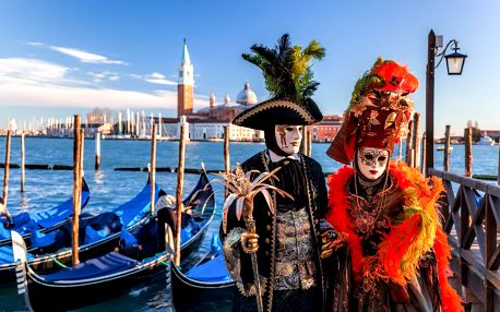Karneval v Benátkách | 3denní zážitkový zájezd do Itálie