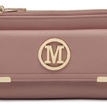 Dámská růžová peněženka Gina 6882