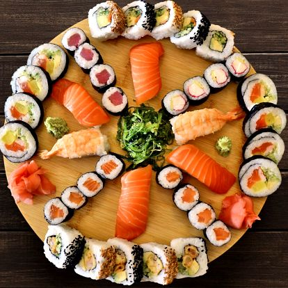 Výběr z 5 sushi setů: až 40 ks čerstvého sushi