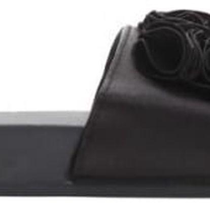 Dámské černé pantofle Fiona 10731A