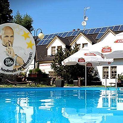 Pobyt v Hotelu Zlatý potok pro dva s gurmánskou kuchyní, která chutná i Zdeňku Pohlreichovi.