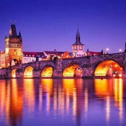 4* Hotel Ehrlich nedaleko centra Prahy se snídaní