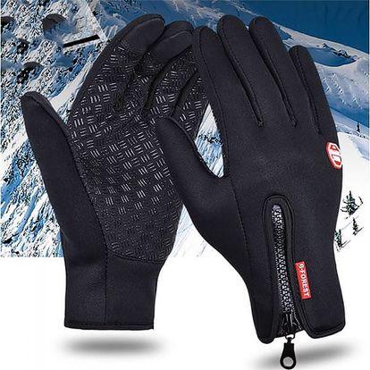 Unisex zimní rukavice na dotykový displej