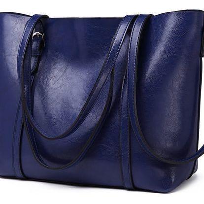 Dámská námořnicky modrá kabelka Lilian 6709