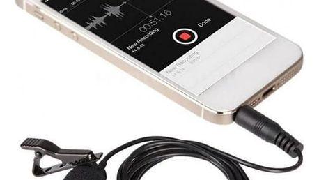 Přenosný mini mikrofon