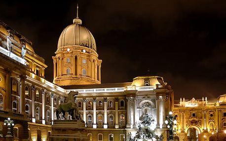 Víkendová adventní Budapešť a návštěva termálních lázní. Krásná architektura, kulturní akce.