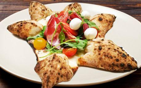 Výběr ze tří netradičních italských pizz