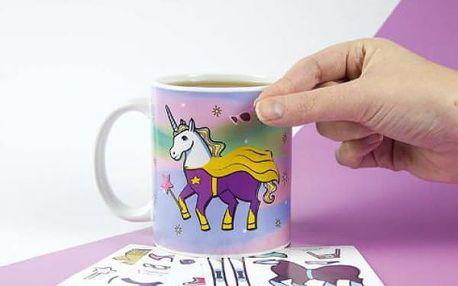 Hrníček Unicorn - Vytvoř si svého jednorožce!
