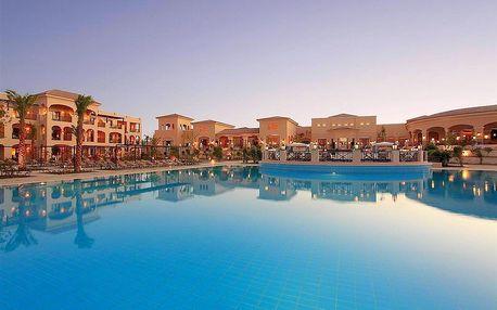 Egypt - Hurghada na 8 dní, all inclusive s dopravou letecky z Prahy nebo Brna přímo na pláži