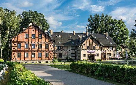 3–8denní wellness pobyt pro 2 na statku Książęcy v podzámčí na západním Polsku