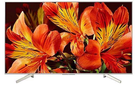 Televize Sony KD-55XF8577 stříbrná