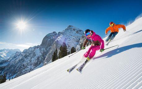 Lyžování v Rakousku Dachstein West jarní prázdniny vše v ce...