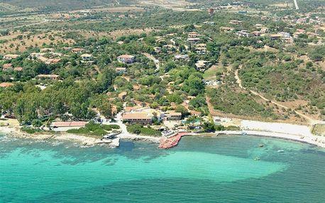 Itálie - Sardinie / Sardegna na 5 až 12 dní, all inclusive s dopravou letecky z Prahy 10 m od pláže