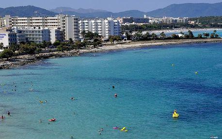 Španělsko - Mallorca na 8 dní, all inclusive nebo polopenze s dopravou letecky z Prahy přímo na pláži
