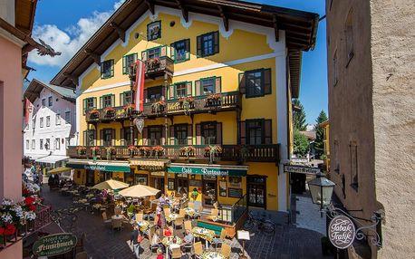 Rakousko - Kaprun / Zell am See na 8 dní, polopenze s dopravou vlastní 300 m od pláže