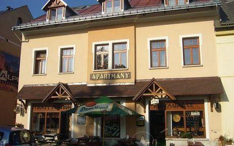 Jaro/léto v Krkonoších na 3 či 8 dní pro 2 osoby včetně snídaní