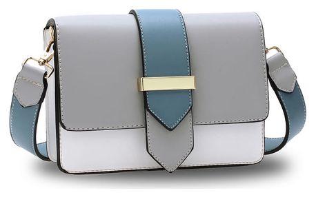 Dámská šedo-bílá kabelka Quinn 692