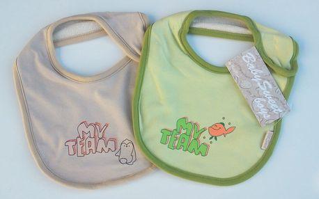 Kvalitní dětské oblečky - capáčky, bryndáky, trička a další