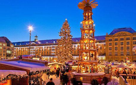 Výlet do Drážďan za podmanivou vánoční atmosférou na tradiční trhy pro JEDNOHO