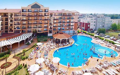 Bulharsko - Slunečné Pobřeží na 8 až 13 dní, all inclusive s dopravou letecky z Prahy 400 m od pláže