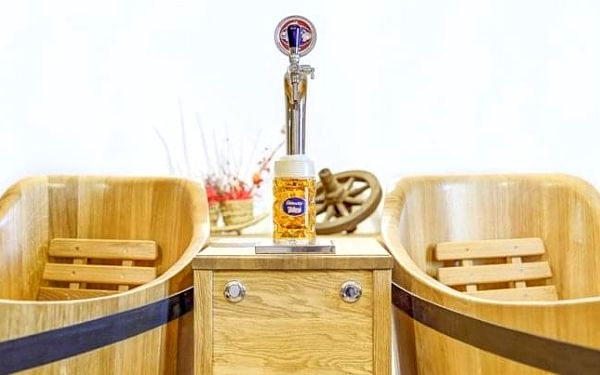 Lázně v pivovaru Poděbrady
