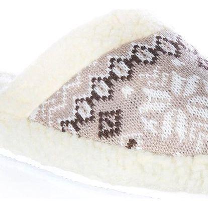 Modern World Dámské papuče Zimní motiv norský