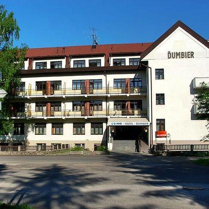 Slovensko - Nízké Tatry na 3 až 4 dny, polopenze s dopravou vlastní