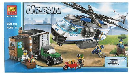 BELA Urban city Stavebnice Policejní hlídka - 528 ks