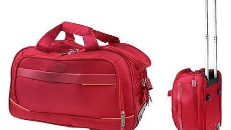 Taška s kolečky G.SS Red