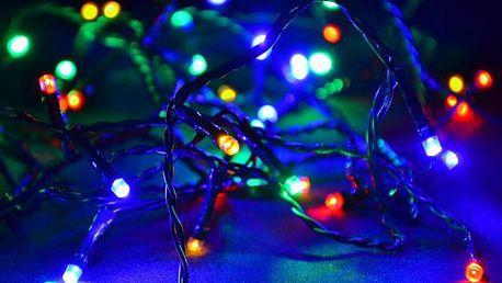 Nexos 28706 Vánoční LED osvětlení 30 m - barevné, 300 diod