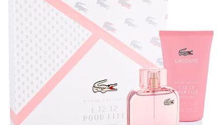 Lacoste Eau De Lacoste L.12.12 Pour Elle Sparkling EDT dárková sada W - EDT 90 ml + sprchový gel 150 ml