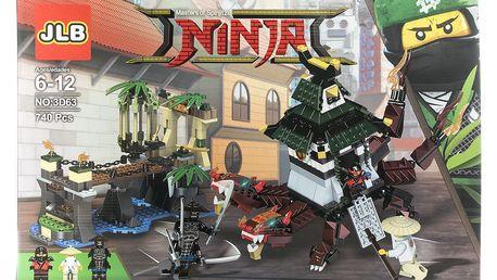 Agesledades Ninja Stavebnice City Docks - 740 ks