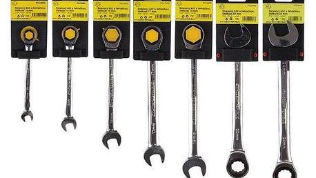 Sada 7 klíčů s řehtačkou ATX
