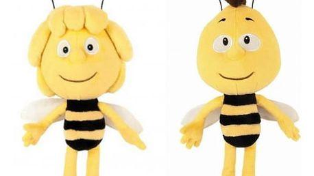 Plyšová včelka Mája nebo Vilík 20 cm