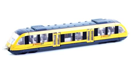 Regionální žlutý vlak RegioJet