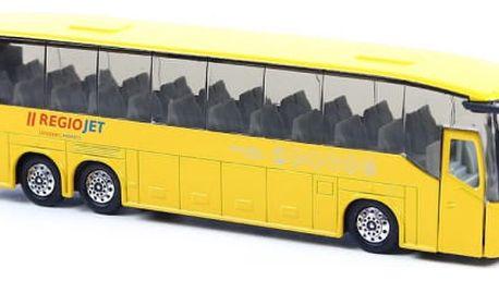 Žlutý autobus RegioJet