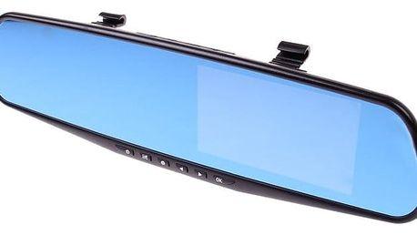 Kamera - černá skříňka zpětné zrcátko DVR Full HD 1080P