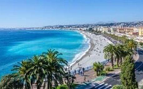 Azurové pobřeží a krásy Provence, relax, poznávání a koupání