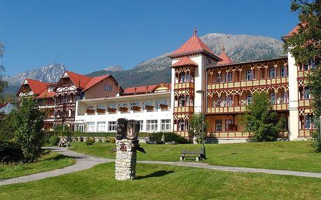 Slovensko - High Tatras na 8 dní, polopenze s dopravou vlastní