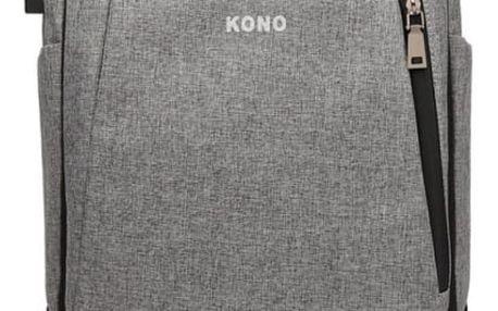 Dámský šedý batoh Deja 6869