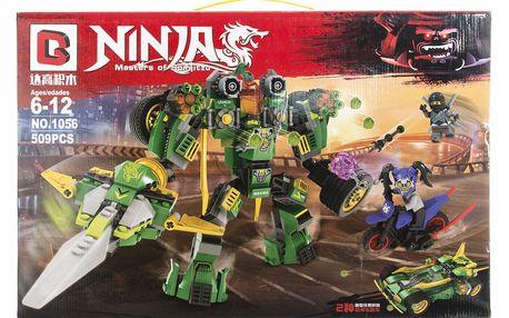 Agesledades Ninja Stavebnice Robot zemětřesení - 509 ks