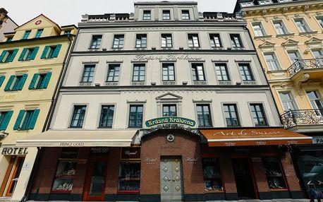 Karlovy Vary: 3-4 dny pro dva s možností polopenzí a vstupem do lázní