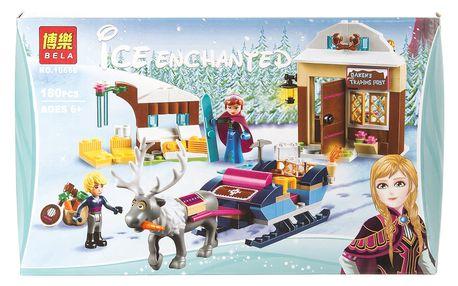 BELA ICE Enchanted Stavebnice Anna a její sněžné dobrodružství - 180 ks