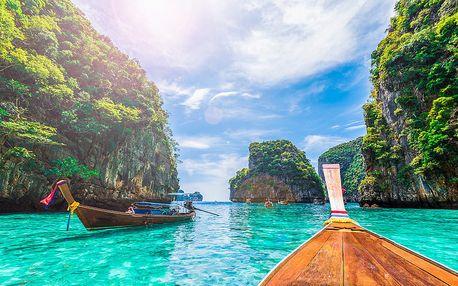 To nejlepší z Bangkoku + Spaní Na Řece Kwai + Koupání Na Ostrově Phuket (letecky