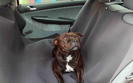 Ochrana čelního skla a autodeka na zadní sedadla