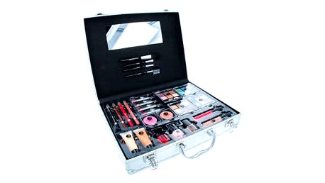 2K Beauty Unlimited Train Case dekorativní kazeta dárková sada W - Complete Makeup Palette